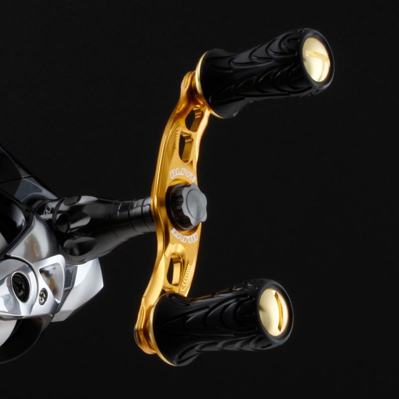 ベイトフィネス用 ベイト用ハンドル 【ウェーブ ベイト】 ハンドル DLIVE 【ミディアム80mm】 エリア/ (ドライブ)